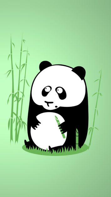 Free download Panda Cartoon Wallpaper Iphone 4.