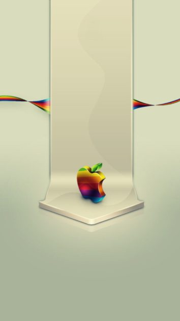 HD Apple Logo Background for Iphone.