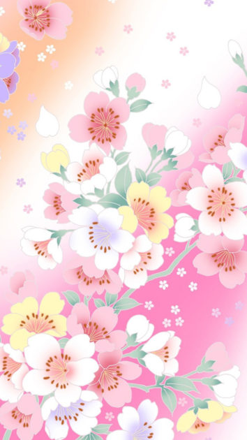 HD Wallpapers Flower iPhone.
