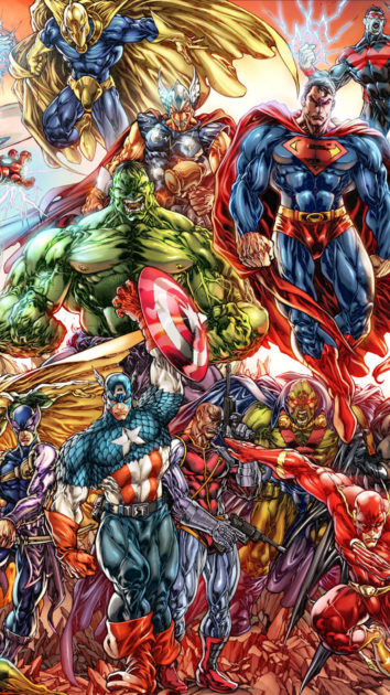 Marvel Wallpaper for Iphone Free Download.