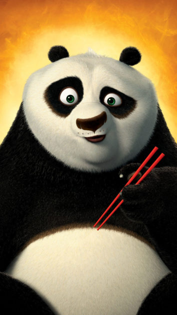 Panda Background for Iphone 11.