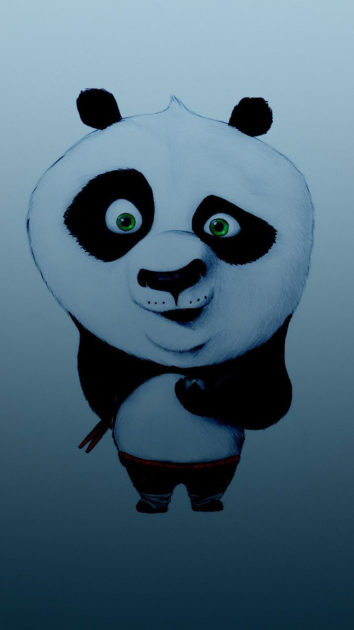 Panda Background for Iphone 12.