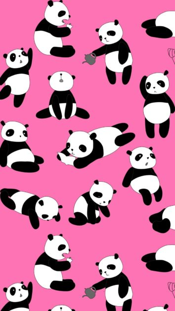 Panda Background for Iphone 4.