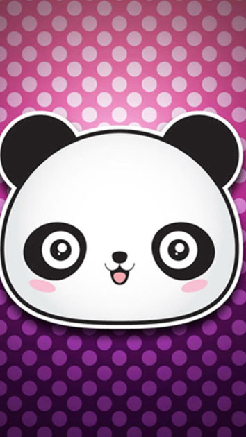 Panda Background for Iphone 5.
