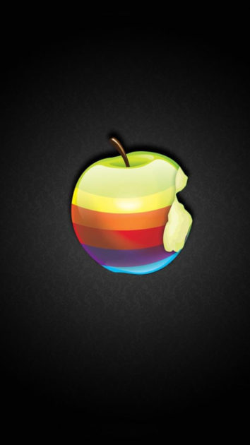 Picture of Apple Logo Wallpaper for Iphone.